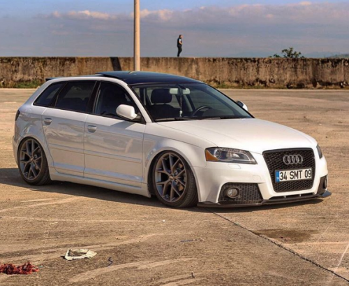 BBS SR application on this sick A3 !