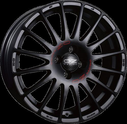 Superturizmo GT - Mat Siyah Kırmızı Yazılı